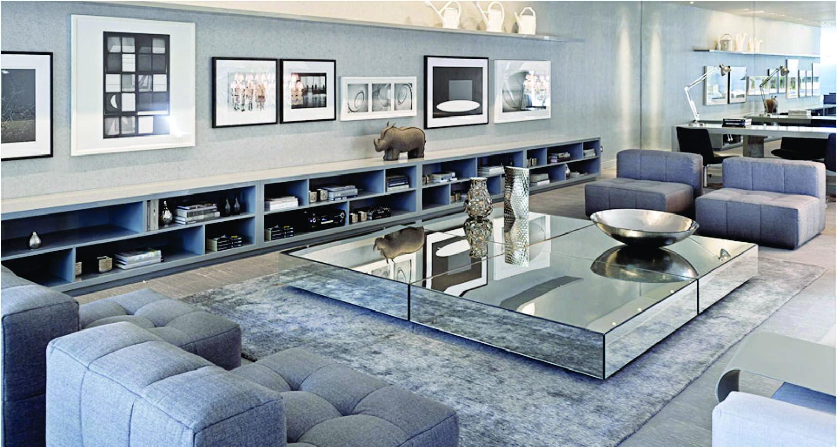 Ambientes Super Bonito -> Sala Toda Cinza